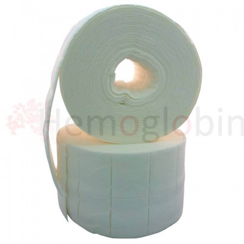 Cellulose Swabs. 2 rolls of 500 dressings