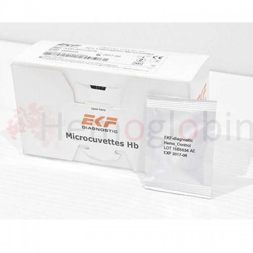 50 Microcubetas Envasadas Individualmente Hemo Control