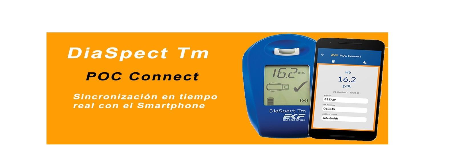 Medidor de Hemoglobina DiaSpect Tm