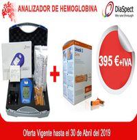 Pack Maletín DiaSpect y 100 Lancetas de Seguridad Unistik 21G en Oferta